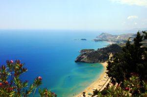 pohled na pobřeží Rhodosu